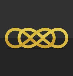 Infinity times infitinty / Double infinity. 8. A journey with no ending. #infinity #revenge #flat #icon #gold #grey #8 @Helga Tittjung Kaszewski C. Magallanes   http://paulinabm.tumblr.com/