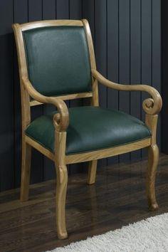 fauteuil crosse de style louis philippe meuble en merisier massif fauteuils de style. Black Bedroom Furniture Sets. Home Design Ideas