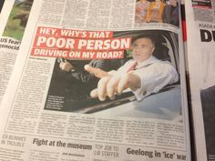 What's wrong, Joe? Are they holding you up and thereby costing you extra petrol excise?