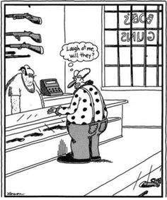Gary Larson My favorite comic strip cartoons. Love them in color and in also in book form.
