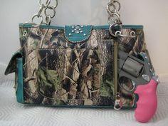 Concealed Carry Camo Purse Montana West Pistol Gun Weapon Handbag Western | eBay