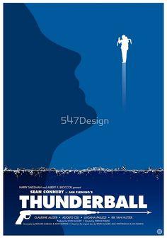 Bond poster art by 547Design
