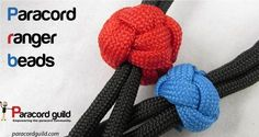 how to make paracord ranger beads