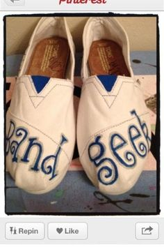 Great shoes for band geeks