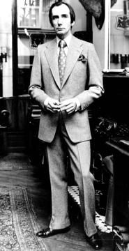 Colin Hammick of H. Huntsman.