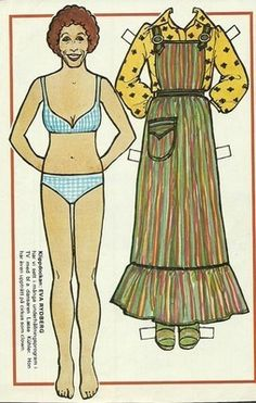 Eva Rydberg Vintage Swedish Paper Doll | eBay * 1500 paper dolls at International Paper Doll Society by artist Arielle Gabriel ArtrA QuanYin5 Linked In QuanYin5 Twitter *