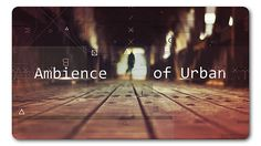 Ambience Urban | Parallax Slideshow (Abstract) #Envato #Videohive #aftereffects