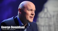 George Donaldson | Celtic Thunder-Born and raised in Scotland and a bus builder by trade, George Donaldson is the Scot in Celtic Thunder, not Irish but Celtic Thunder none-the-less.