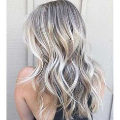 It's true, you can observe that balayage works pretty nicely with all hair lengths. Still another website to explain to you how balayage is finished. Blonde Makeup, Hair Makeup, Brown Blonde Hair, Silver Blonde, Cool Toned Blonde Hair, Ashy Blonde, Ice Blonde, Dark Hair, Hair Color And Cut