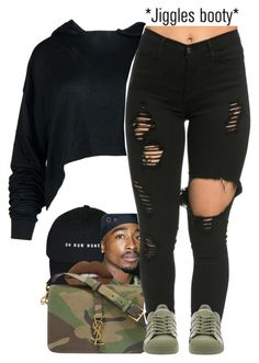 """""""darker.."""" by fashion123123 ❤ liked on Polyvore featuring Lime Crime, Yves Saint Laurent, adidas and AG Adriano Goldschmied"""