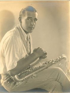 Apparently Wallace Reid used to keep his neighbors up by playing his saxophone