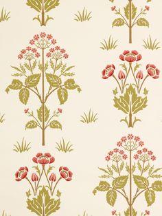 3e8f798f61d John Henry Dearle - Meadow Sweet Home Wallpaper