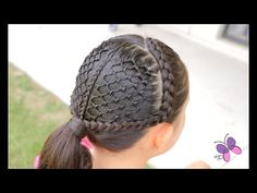 Double Waterfall French Braid - YouTube