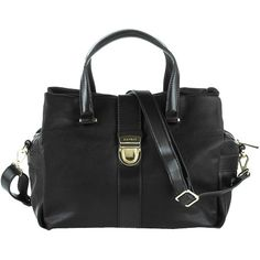 Zeitlose Tasche in Schwarz von Esprit. Die Tasche kommt in Leder-Optik mit markantem Pin-Verschluss aus Metall. ♥ ab 69,99 € Bags, Fashion, Shoulder, Handbags, Metal, Moda, La Mode, Fasion, Totes