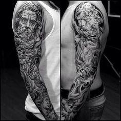 Resultado de imagem para neptune tattoo