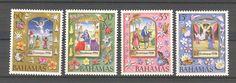 Bahamas 1996; Butterflies, Flowers, Christmas; Mi: 923/926; MNH