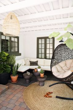 Our Backyard Lounge Area: The Reveal