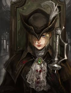 Bloodbourne - Lady Maria's Grin