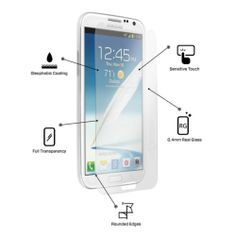Tempered Glass Explosion Proof Screen Protector for Samsung Galaxy NOTE 2 II NEW