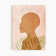 Tropical black girl, African female portrait • Millions of unique designs by independent artists. Find your thing. Tropical Girl, African American Art, Canvas Artwork, Printable Wall Art, Photo Art, Wrapped Canvas, Wood Bars, Art Prints, Canvas Prints