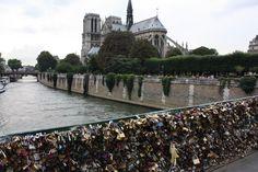 Atardecer en Notre Dame.