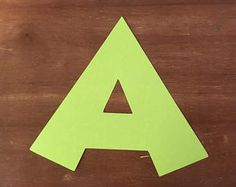 Check out Any letter die cut... You choose letter and colors (only one letter included in listing) on scrappinbjs