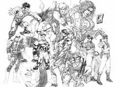 Line art Marvel - Pesquisa Google