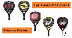 Las 10 PALAS de Pádel Más CARAS (Diferentes Marcas) #padel http://blgs.co/aFmNSw