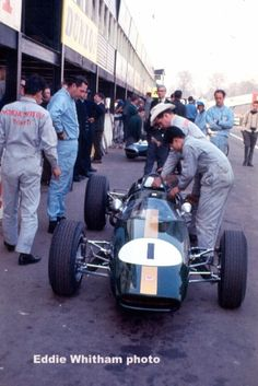 Jack Brabham - Brabham BT16 Honda - Brabham Racing Developments - VI Spring Trophy 1965