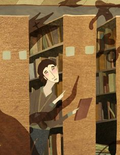 lavacheestdanslepre:      The Librarian, lost in the Fantasy section      Kate Atherton