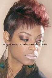 27 Piece Hairstyles For Black People Short Black Woman Hairstyle  Black Hairstyles Woman Hairstyles And