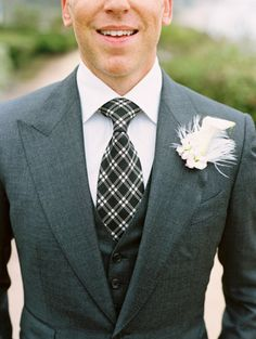 This combo is great, different textures and different colours, would you give it a go?  #Mens #Wedding #Suit