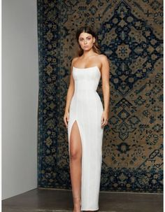 32 Stunning Wedding Dresses You Will Love to wear. Grad Dresses, Ball Dresses, Ball Gowns, Wedding Dresses, Nova Dresses, White Prom Dresses, Lulus Wedding Dress, Formal Dresses For Weddings, Bridesmaid Dress