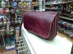 Leather Handmade Messenger bag Postman bag Crossbody bag  Shoulder bag Satchel bag/Adjustable strap