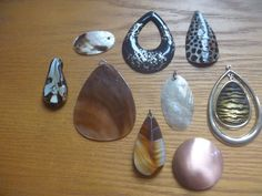 pendants, nine pendants for jewellery making Jewelry Making Supplies, Jewellery Making, Uk Shop, Two By Two, Craft Projects, Pendants, Etsy Shop, Magpie, How To Make
