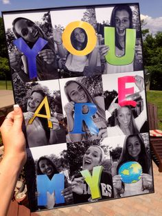 Grad present for my best friends More