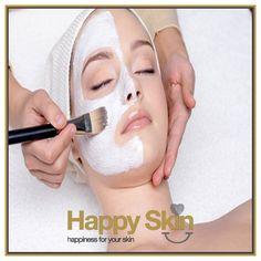Gezichtsbehandeling van 60 min. bestaande uit;  - Oppervlakte reiniging - Peeling - Stomen - Onzuiverheden verwijderen - Epileren - Masker - Crème   Boek snel via www.happyskin.nl of stuur ons een bericht.