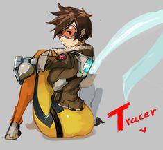 Tracer! by hongdoojebi.deviantart.com on @DeviantArt