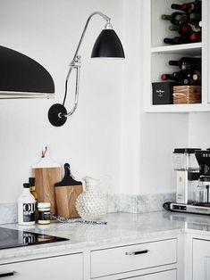 Grande stile per un appartamento svedese