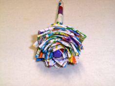 Paint Splatter Duct Tape Flower Pen by FlowerPensAndMore on Etsy, $6.99