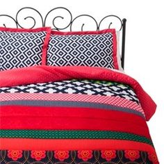 Xhilaration™ Twin XL Banded Comforter Set - Multicolor (Twin Extra Long)