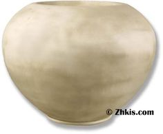 Beautiful curves with this large-size bowl planter. A wonderful centerpiece for a deck or patio. Made from durable fiberglass and designed for outdoor use in year-round weather. Several finishes to choose from. Large Garden Planters, Indoor Planters, Planter Pots, Beautiful Curves, Contemporary, Modern, Centerpiece, Deck, Weather