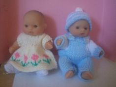 These little dolls are so cute and cuddly.
