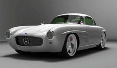FAB WHEELS DIGEST (F.W.D.): 2009 Gullwing-America Panamericana Mercedes-Benz 300SL Concept