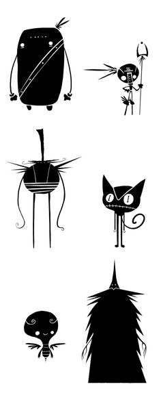 Conceptual development, character desig, screen... by DAVID MARCELO ZAMORA, via Behance