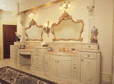 Fancy Glazed Painted Victorian Bathroom Vanity Traditional In Vanities Hroomvanityideas