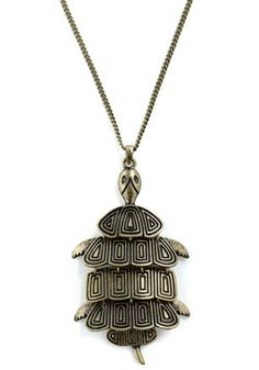Terrapin Interest Necklace, #ModCloth