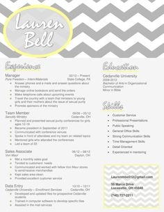 My resume design in gray and yellow. Buy the template for just $15!