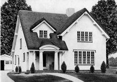 1926 Standard House Plans: The Carlyle