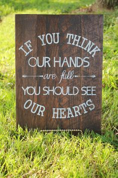If You Think Our Hands Are Full You Should See Our Hearts Sign Adoption Sign Adoption Gift Baby Shower Gift Farmhouse Sign Housewarming Adoption Quotes, Adoption Gifts, Adoption Day, Adoption Stories, Foster Care Adoption, Foster To Adopt, Adoption Shower, Gotcha Day, Party Quotes